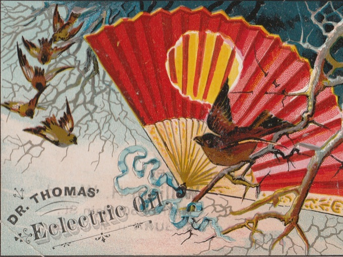 Dr. Thomas' Electric Oil Trade Card