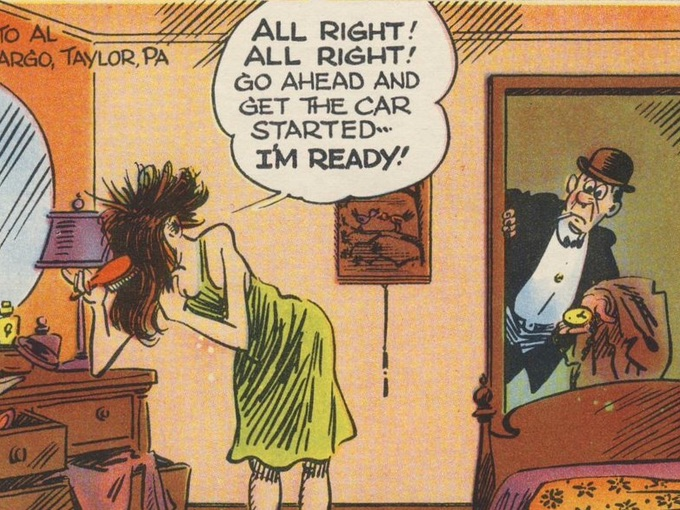 1945 Jimmy Hatlo Mutoscope Arcade Card — no. 31 of 32