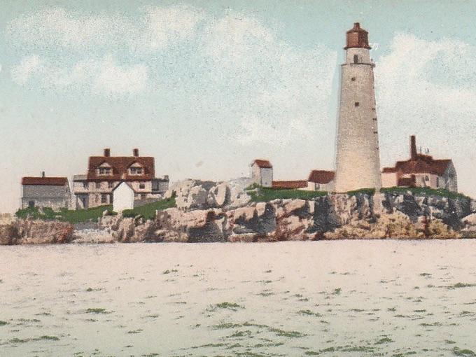 Historic Boston Light Lighthouse — Boston, Mass.