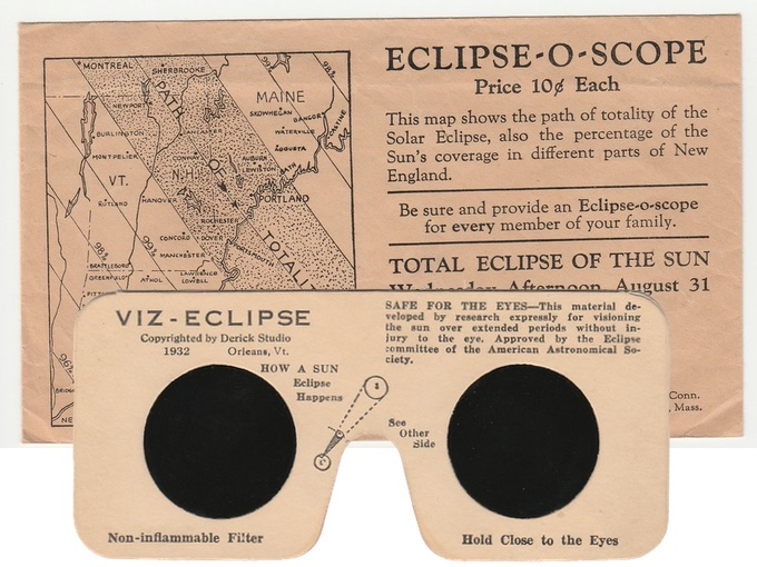 1932 Eclipse-O-Scope — Harvey and Lewis Opticians