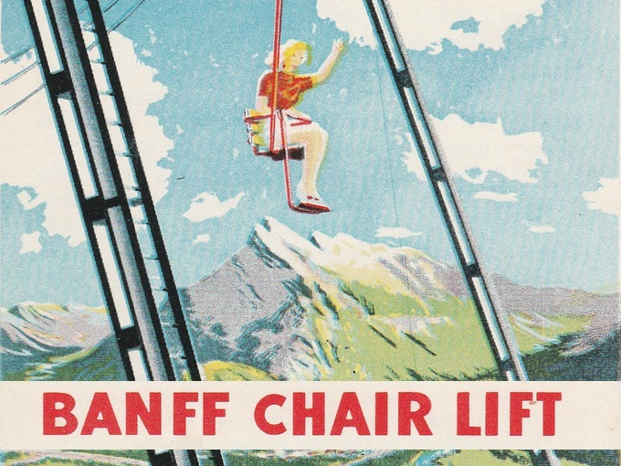 Banff Chair Lift to the Top of Majestic Mt. Norquay
