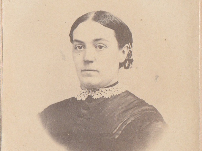 1880s CDV Photograph Identified as Emily Tripp — Auburn, N.Y.