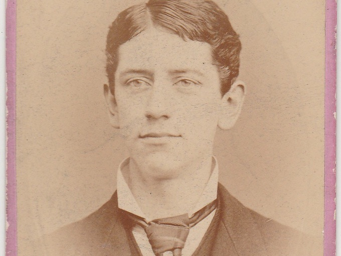 1880s CDV Photograph of Young Man — Indianapolis, IND.