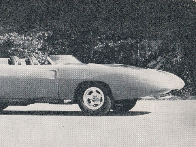 Dodge Super Charger Concept Car