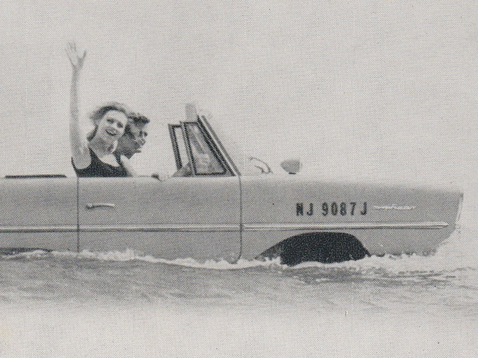 The Amphicar — Anphibious Automobile
