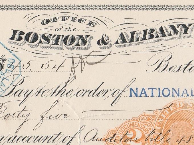 1899 Boston & Albany Rail Road Co. — Boston, Mass.