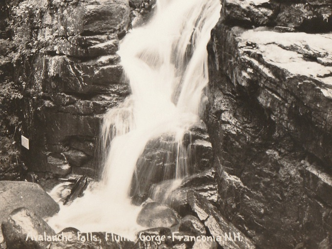 Avalanche Falls, Flume Gorge — Franconia, N.H.