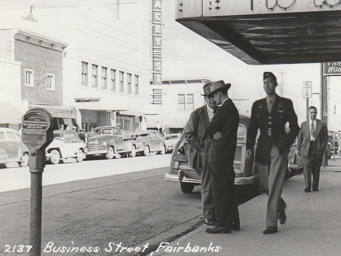 1950s Business Street — Fairbanks, Alaska