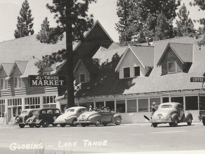 1948 Globin's Hotel, Lake Tahoe — Al Tahoe, Calif.