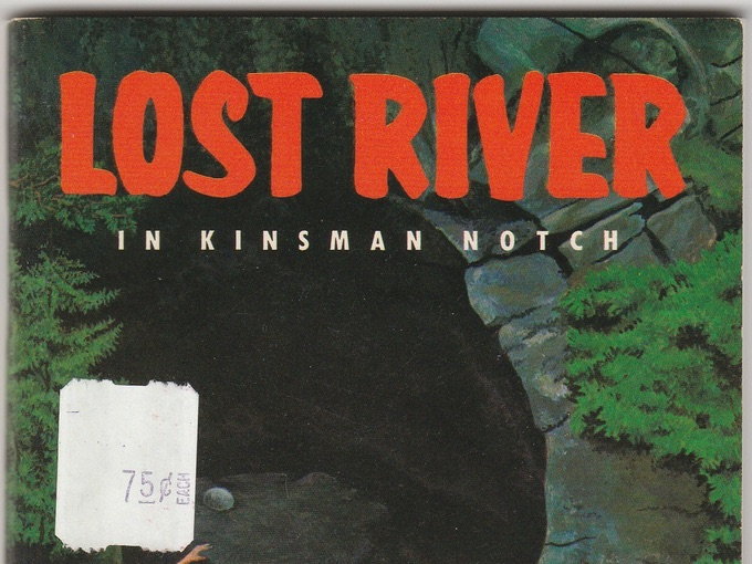 Vintage Booklet, Lost River in Kinsman Notch — White Mountains, N.H.