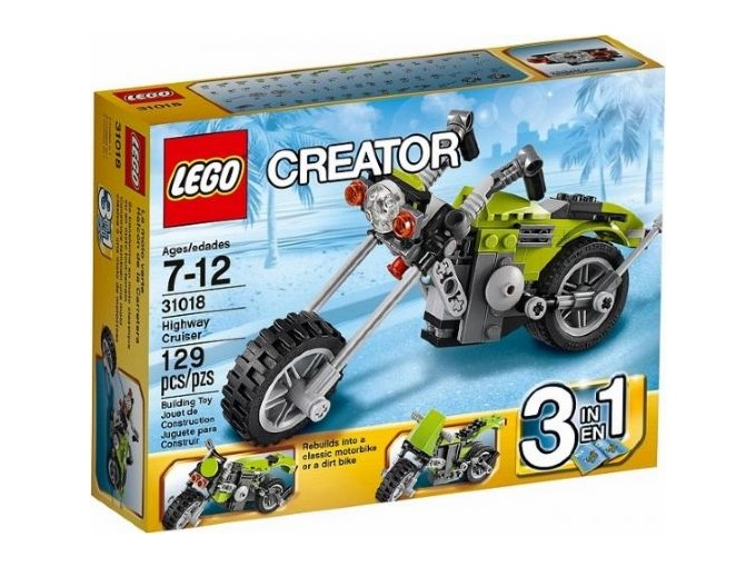 LEGO Set 31018 Highway Cruiser — Collectible Set Released In 2013