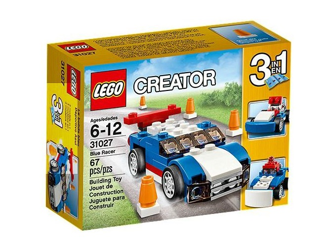 LEGO Set 31027 Blue Racer — Collectible Set Released In 2015