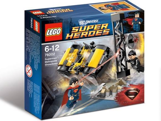 LEGO Set 76002 Superman Metropolis Showdown — Collectible Set Released In 2013