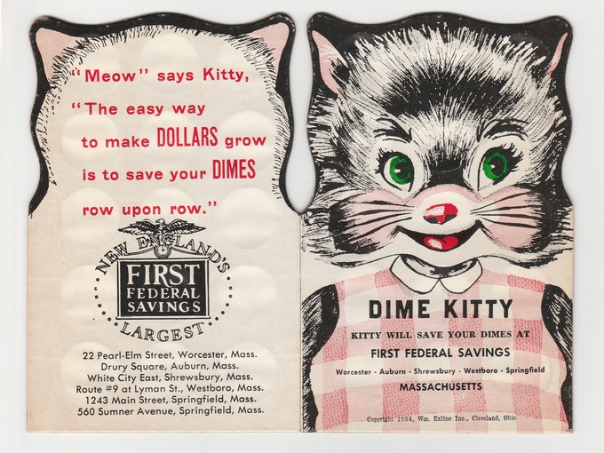 1954 Dime Kitty — First Federal Savings Bank