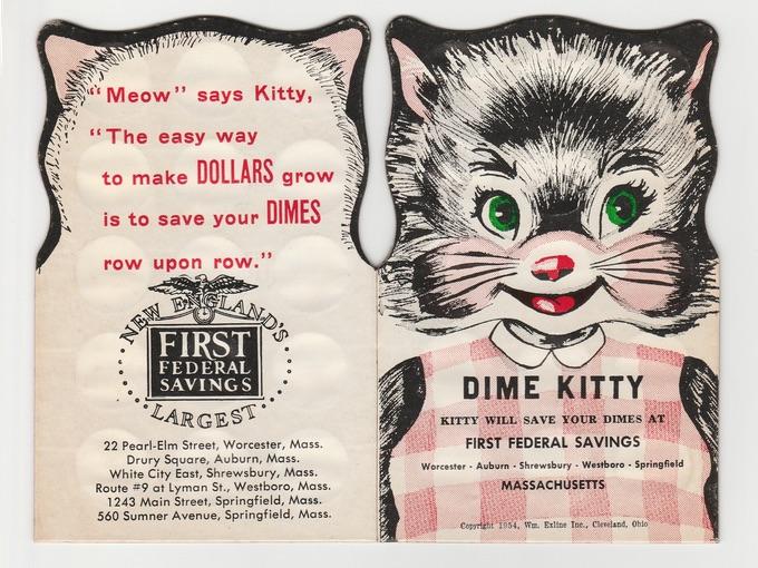 1954 Dime Kitty — First Federal Savings Bank