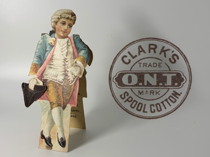 Browse vintage advertising items.